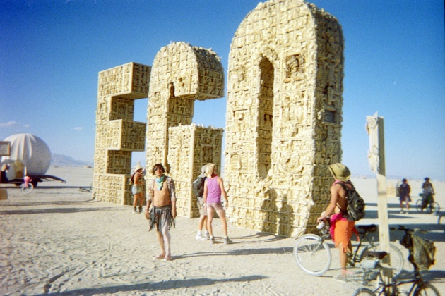 'Kill your Ego' at Burning Man © 2012 John Eikleberry