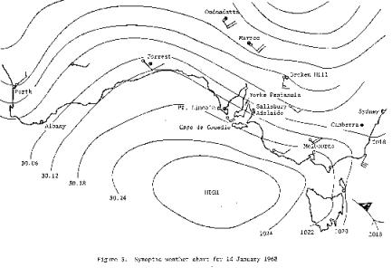 WA weather chart