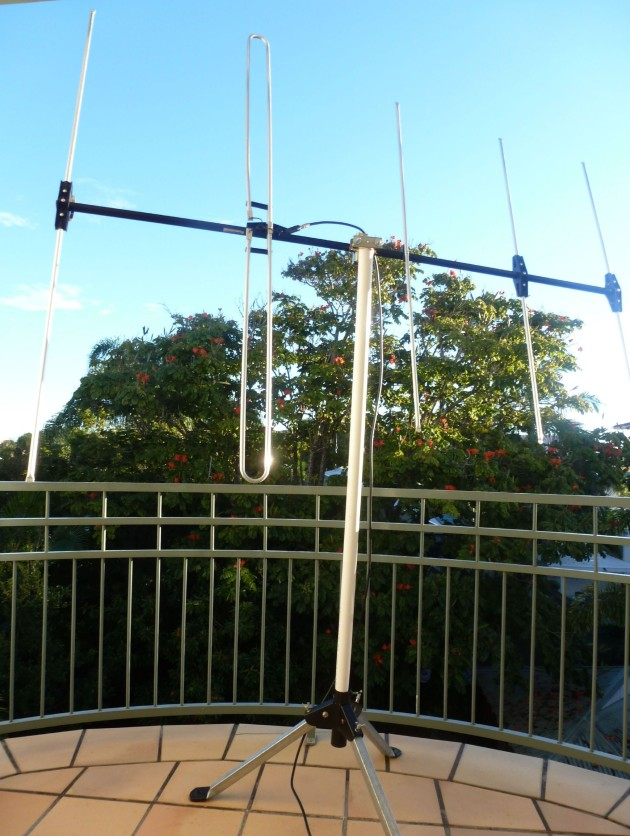 Close up of the antenna - Noosaville