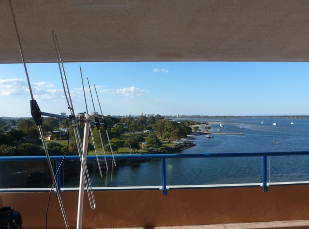 View from the Front Balcony - Pelican Waters