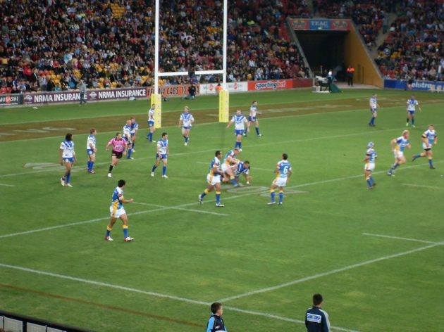 Gold Coast Titans FC at Suncorp Stadium © 2009 Markus