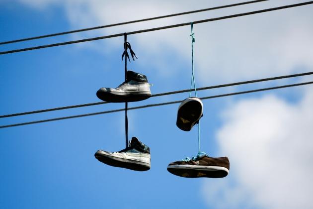 Shoefiti © 2011 Matthew Kenwrick