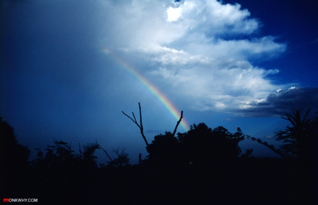 Rainbow, Mt Glorious © 2012 DamienQuick.com