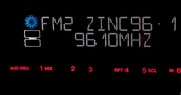 Zinc 96.1 FM RDS