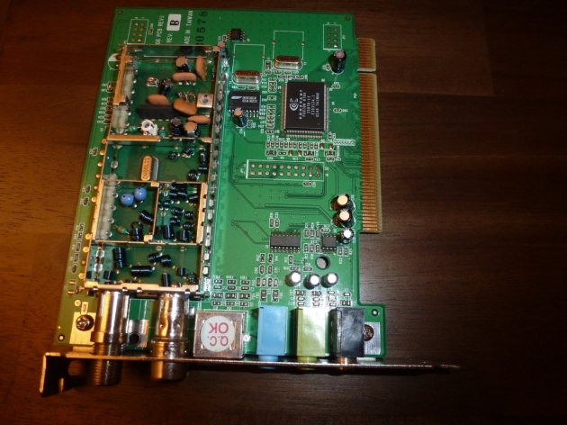 TV2000XP inside tuner module
