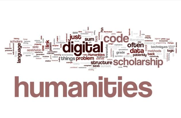 Digital humanities 'wordle'  © 2011 Phillip Barron