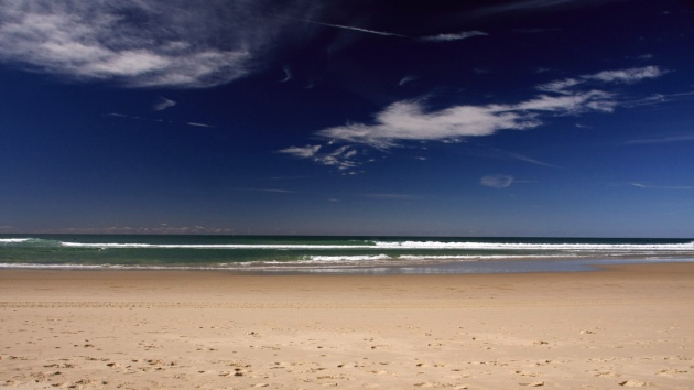 Coolum Beach in the federal seat of Fairfax © 2011 IDS photos