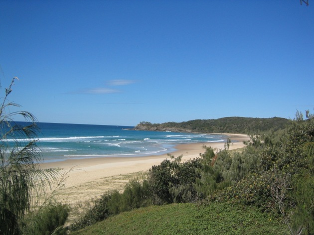 The Beach at Alexandrea Bay, Noosa © 2003 Kirsty Bettiol