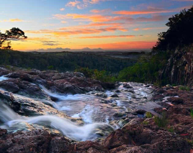 Minyon Falls  © 2010 Michael Dawes
