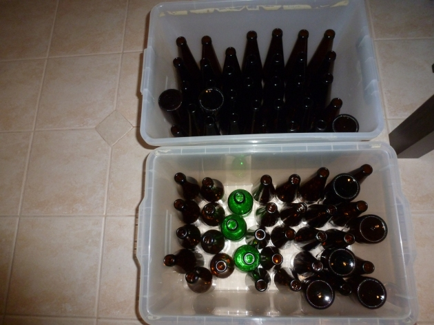 Bottle priming phase © 2013 FM DXing at WordPress