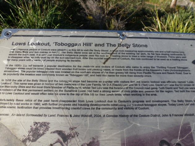 History plaque at Low's Lookout © 2013 FM DXing at WordPress