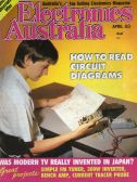 Cover of Electronics Australia magazine © 1988 Federal Publishing
