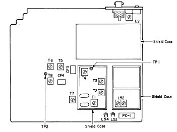 PRO-2006 interior modules © 1990 Tandy Corporation