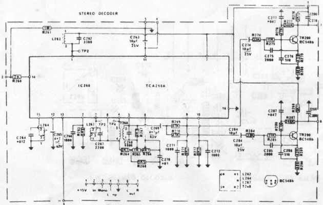 Stereo decoder schematic © 2014 FM DXing at WordPress