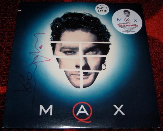 Max Q autographed © 2011 Luna715