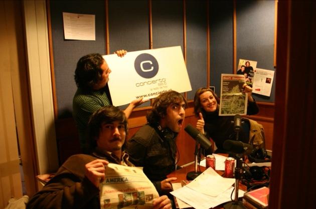 """Radio Concierto """"Concierto Enfoque"""" © 2005 Leo Prieto"""