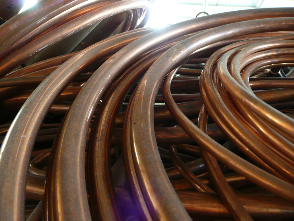 Coiled copper tubing © 2007 neufcent9